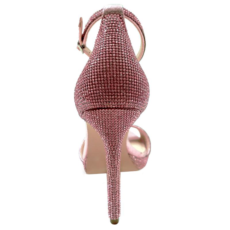 鞋业有限公司【懿熙】女鞋生产厂家-钻面凉鞋