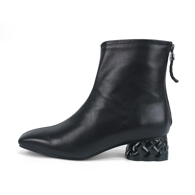 东莞女鞋生产厂家批发粗跟马靴 - 粗跟马靴批发价格、市场报价、厂家供应
