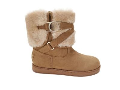 东莞懿熙女鞋生产厂家-新款雪地靴冬季加绒加厚保暖棉鞋