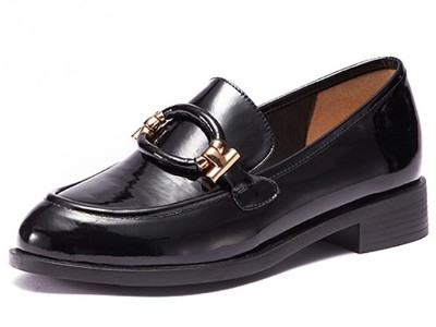 鞋子生产厂家供应女式真皮单鞋
