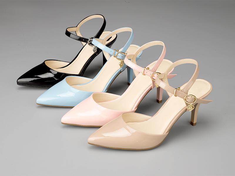女士气质高跟凉鞋3色