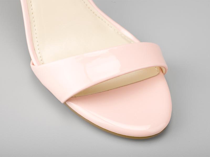 女士气质高跟凉鞋鞋头
