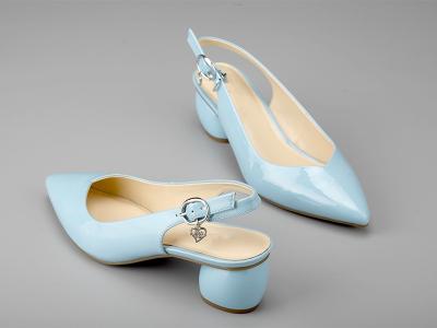 东莞懿熙女鞋生产厂家-女士粗跟凉鞋-代工工厂