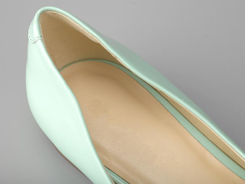 女士多色粗跟单鞋鞋垫