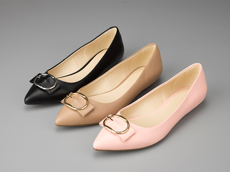 女士经典平底单鞋3色