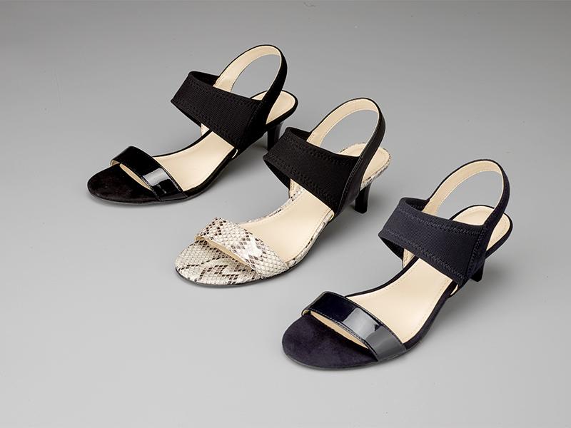 女士露指高跟凉鞋3款