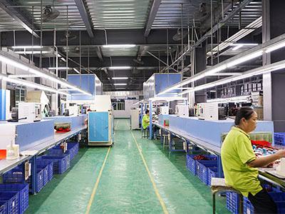 懿熙鞋业自动化生产线