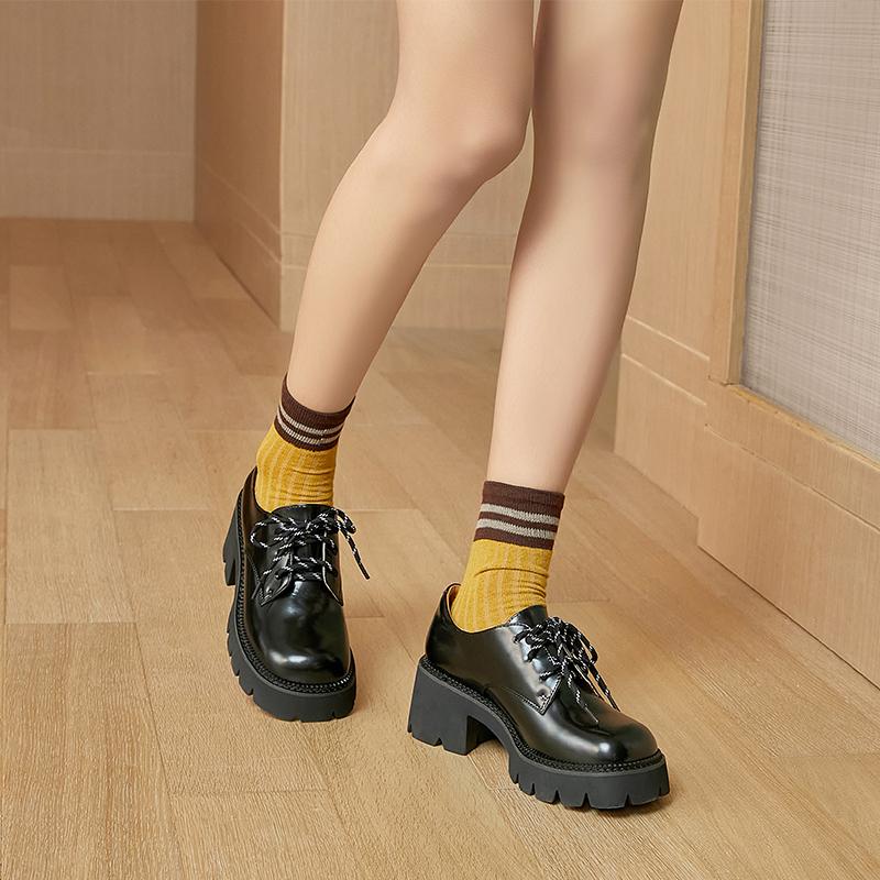 真皮休闲女鞋