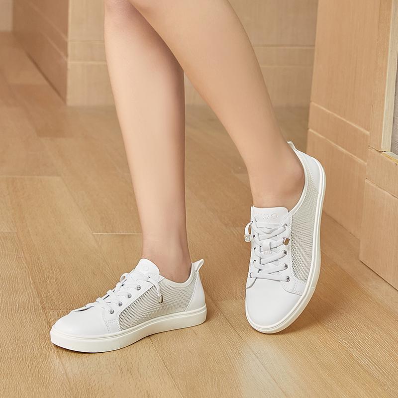 运动鞋生产厂家-新款网面运动鞋