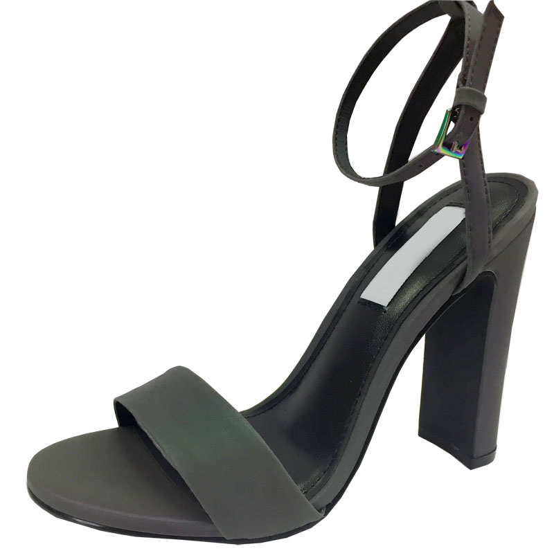 东莞 凉鞋 高跟鞋生产厂家直供珠光磨砂高跟