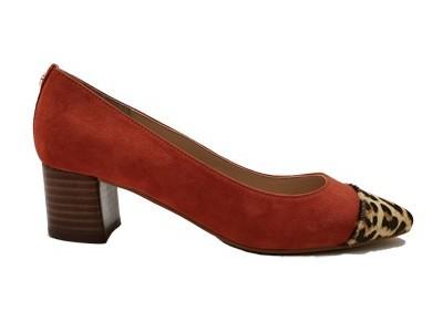 百搭时尚女士新款粗高跟女单鞋