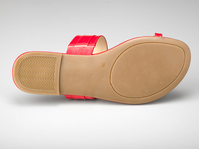 女士时尚平底凉鞋-鞋底