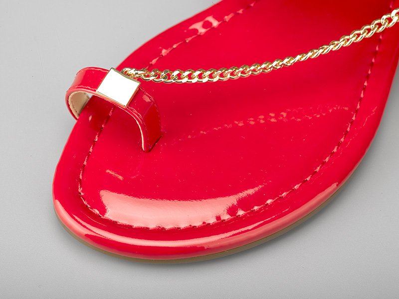 女士时尚平底凉鞋-鞋垫